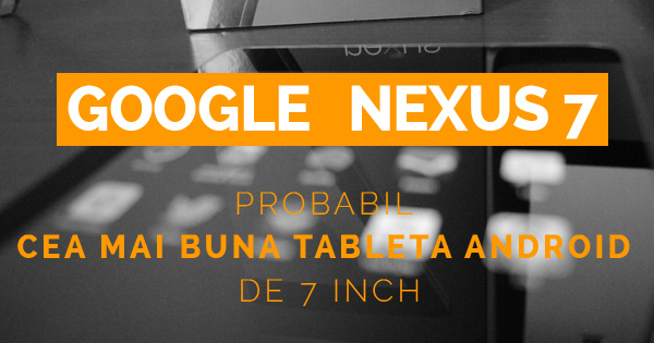 tableta google nexus 7 II