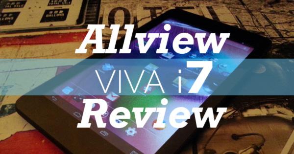 tableta allview viva i7 review