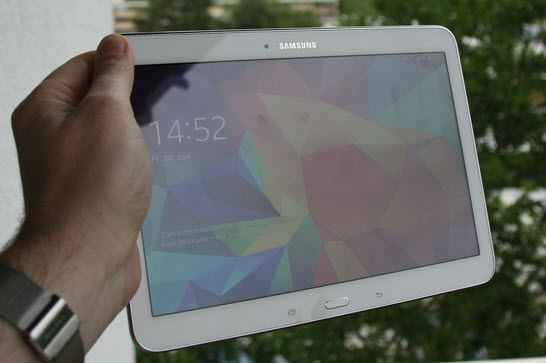 samsung galaxy tab4 display