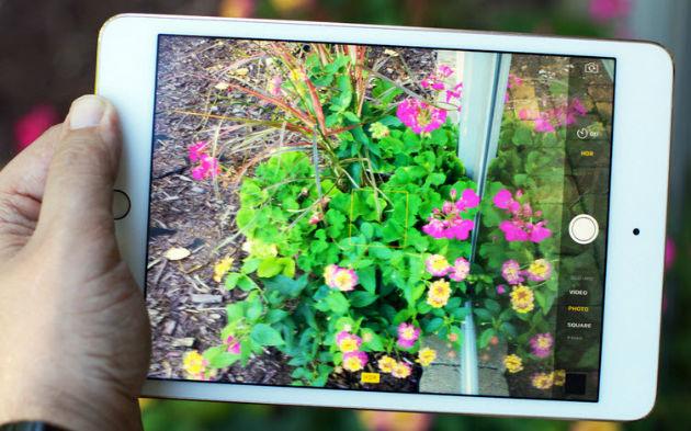 ipad mini 4 camera foto 8mp